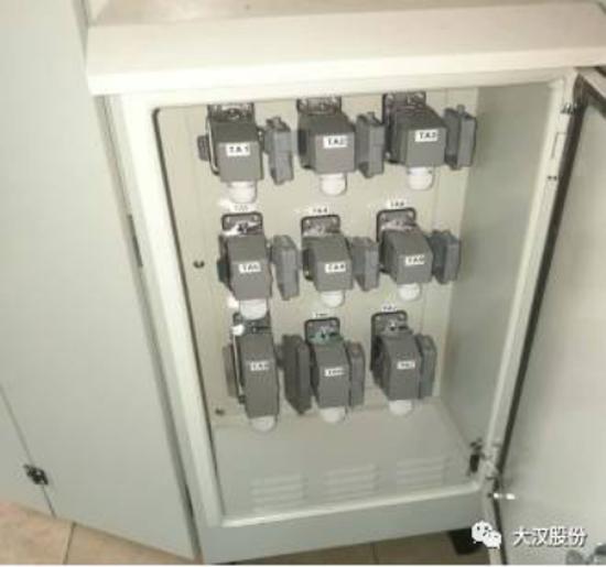 电箱采用插件式安装