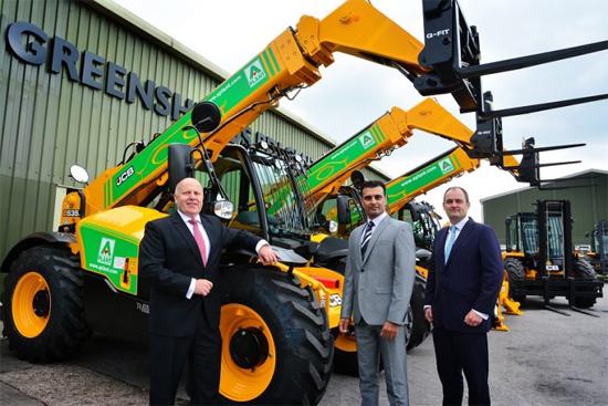 JCB赢得价值5500万英镑的设备订单