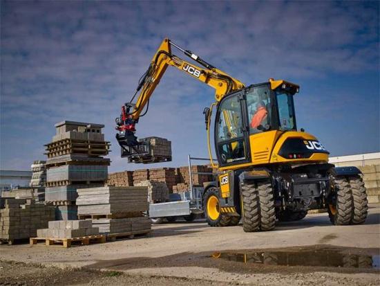 JCB Hydradig 110W 轮式挖掘机