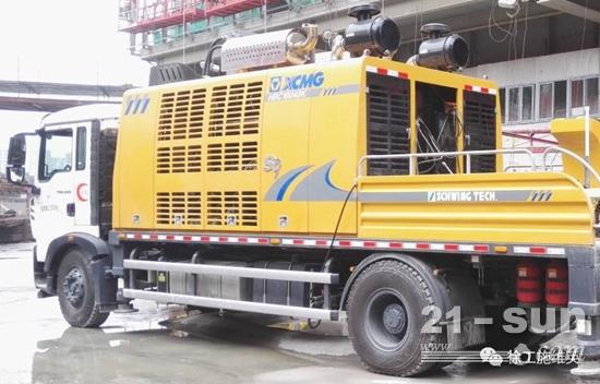 徐工施维英HBC10040K超高压车载泵
