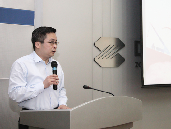 中联重科副总裁苏用专给予项目团队高度肯定