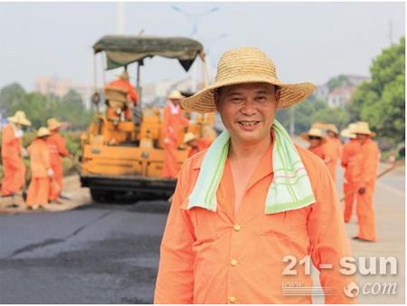 """黎国军:老公路养护人31年""""养路""""情"""