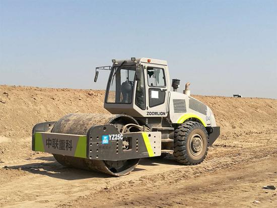 中联重科路面机械助建中建五局PKM公路项目