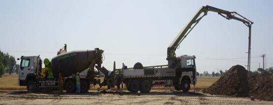 中联重科设备助建PKM公路项目