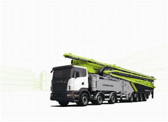 中联重科4.0混凝土泵车