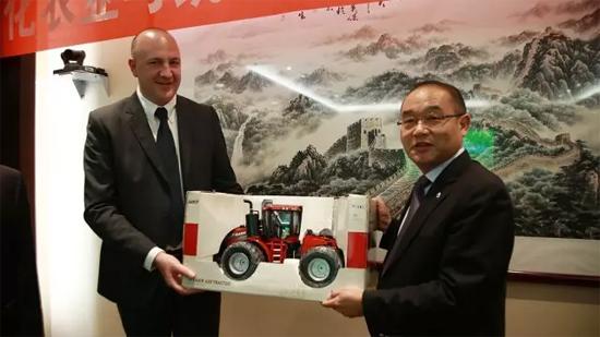 凯斯纽荷兰与中化农业强强联手