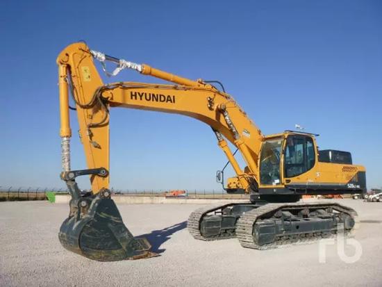 现代ROBEX 520LC-92液压挖掘机