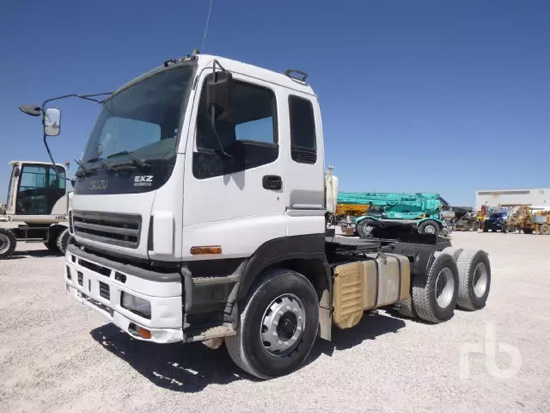 五十铃EXZ51K 6x4牵引车(双轴)