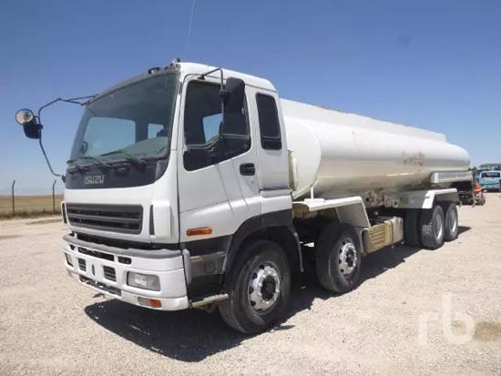 五十铃CYH51W 8x4罐车