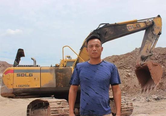 武汉临工挖掘机用户陈世庆