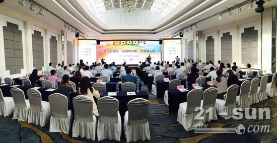 2017年中国铲土运输机械行业年会现场
