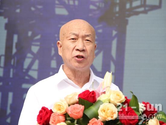 中国建筑业协会副会长兼秘书长吴涛致辞