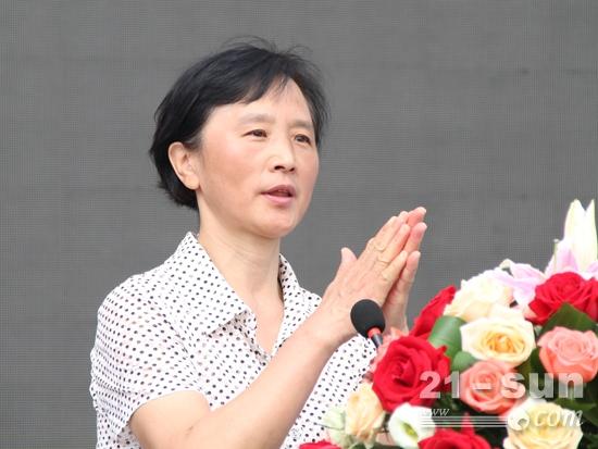 中国海员建设工会全国委员会副主席曹宏伟致辞