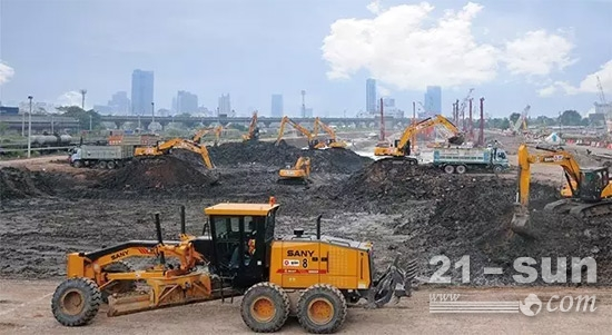 挖掘机出口销量不断增加