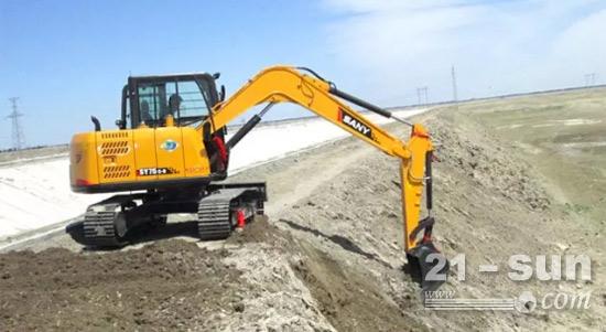 挖掘机的更新周期大约为8~10年
