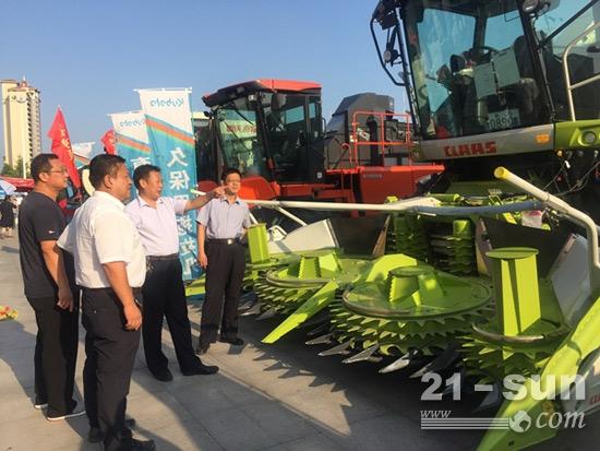东营市广饶县举办2017年秋季农机展