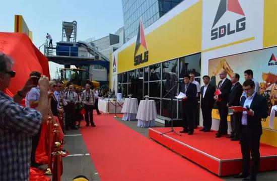 山东临工总裁于孟生在俄罗斯CTT展会上致辞