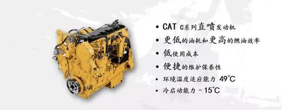 Cat<sup>®</sup>C2.6直喷式发动机