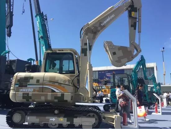 高原挖掘机SWE80E-G