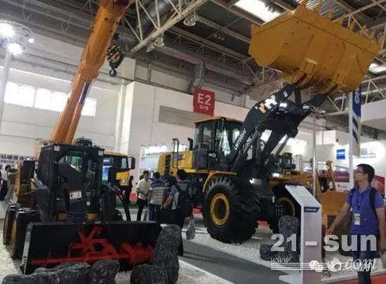 徐工铲运盛装出席BICES2017北京展