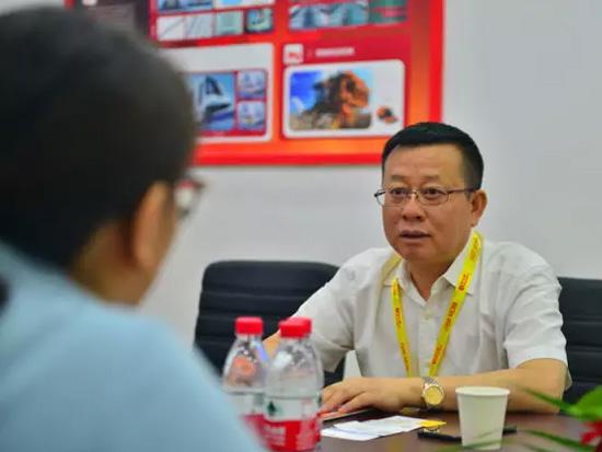 铁建重工刘飞香董事长接受媒体采访