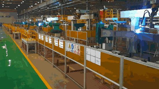 徐工智能化柔性焊接生产线