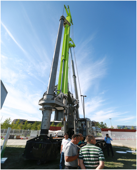 中联重科新一代旋挖钻机ZR360C