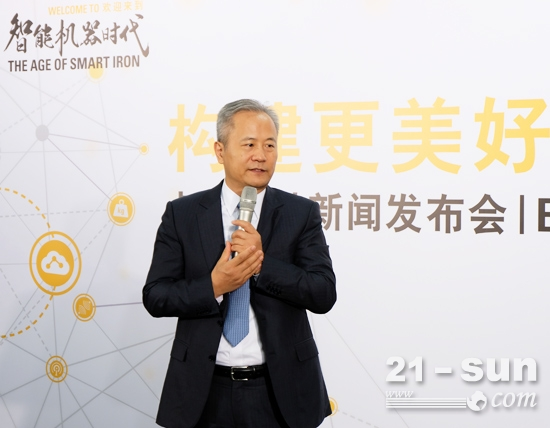 卡特彼勒全球副总裁、卡特彼勒(中国)投资有限公司董事长陈其华