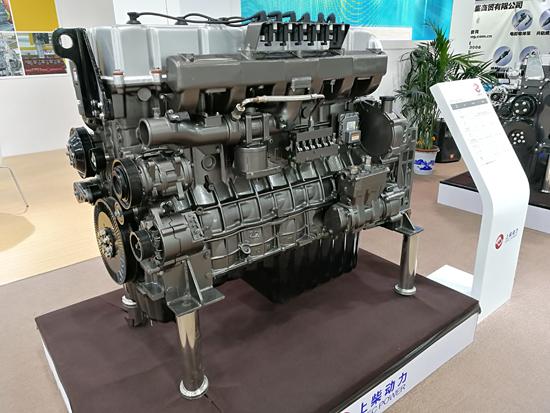 上柴配套工程机械的发动机产品
