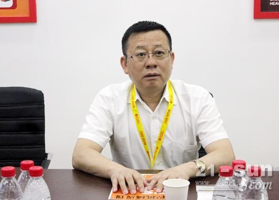 铁建重工党委书记、董事长刘飞香
