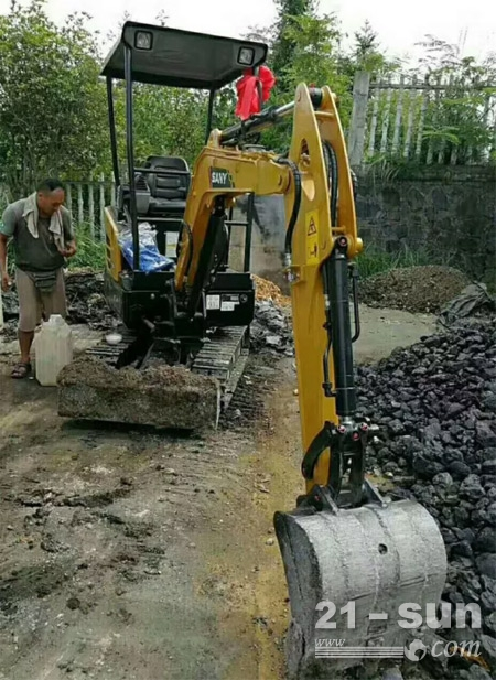 SY16C,用于合作社挖沟培土等施工