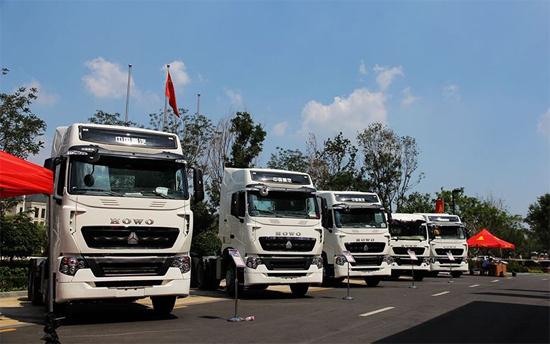 中国重汽产品