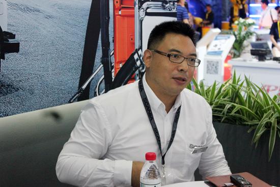 21-sun编辑对话斯堪尼亚销售(中国)有限公司工业及发电用发动机销售经理潘红岩