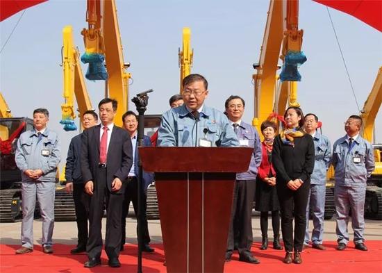 国机重工(常州)挖掘机有限公司常务副总黎彬先生主持