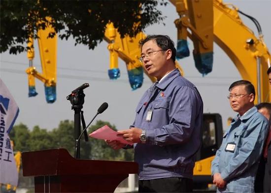 国机重工(常州)挖掘机有限公司董事长孔凡宏先生致辞