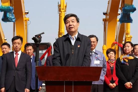 中国国机重工集团有限公司总经理王伟炎致辞