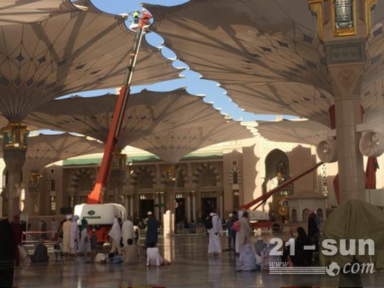 星邦重工臂式设备在中东市场应用广泛