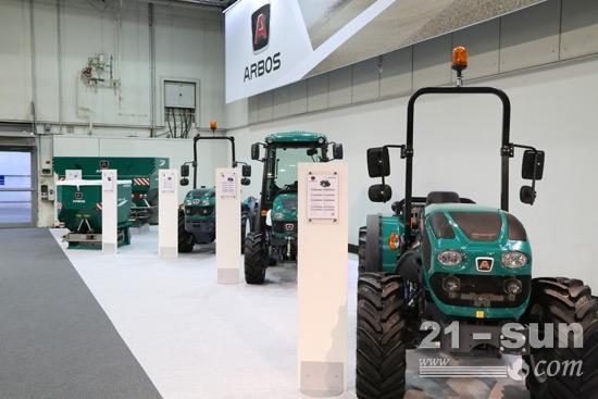 适合果园、葡萄园等特殊作业工况的专用拖拉机组合