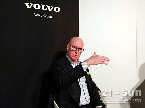 沃尔沃建筑设备投资(中国)有限公司董事长兼总裁梁安德(Anders P. Larsson)
