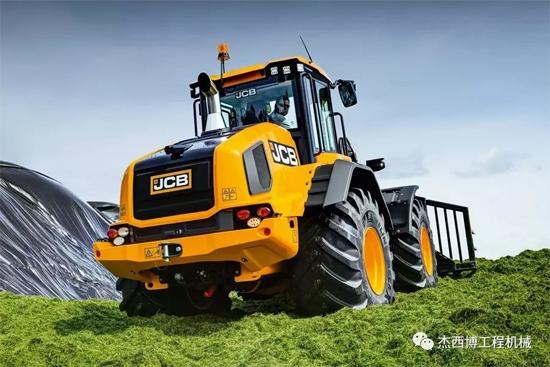 JCB重磅发布新品419S装载机