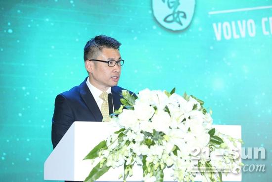 沃尔沃建筑设备中国区总裁岑家辉先生致辞