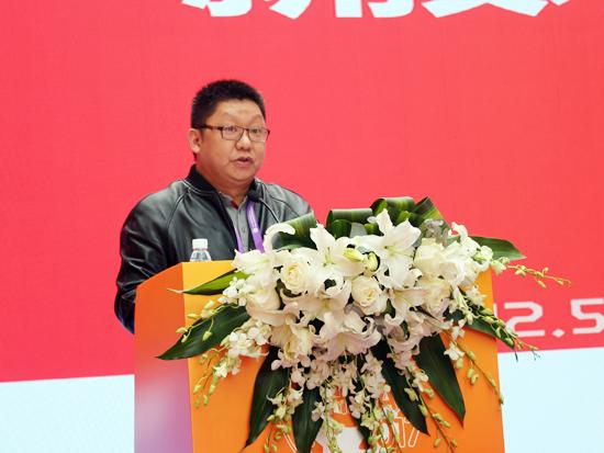 中国长沙国际工程机械暨配套件博览会组委会执行秘书长张飚主持对接会