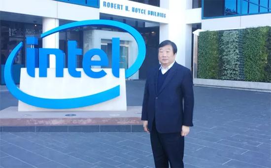 谭旭光带队访问美国硅谷