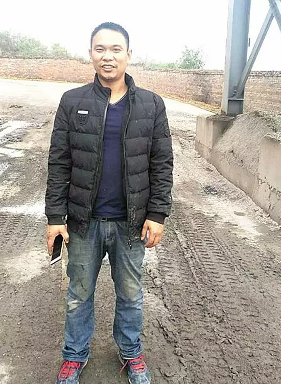 湖南祁阳瑞德沥青混凝土公司沥青搅拌站站长王建华