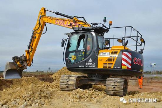 英国Collett Plant 租赁公司新购4台JCB挖机