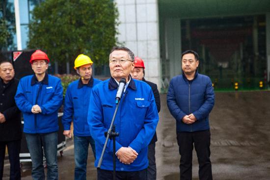 山河智能董事长何清华发言