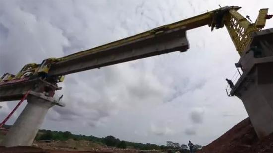 蒙内铁路修建现场