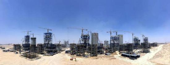 埃及GOE项目(图片来源:华西都市报)
