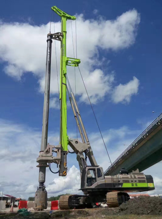 ZR360C助力泛婆罗高速路项目施工