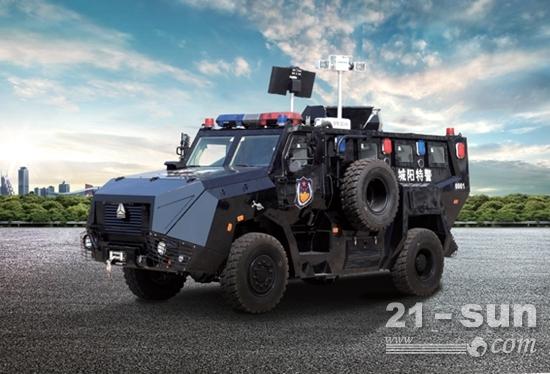 警用防暴装甲车